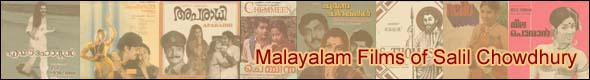 Malayalam Films of Salil Chowdhury